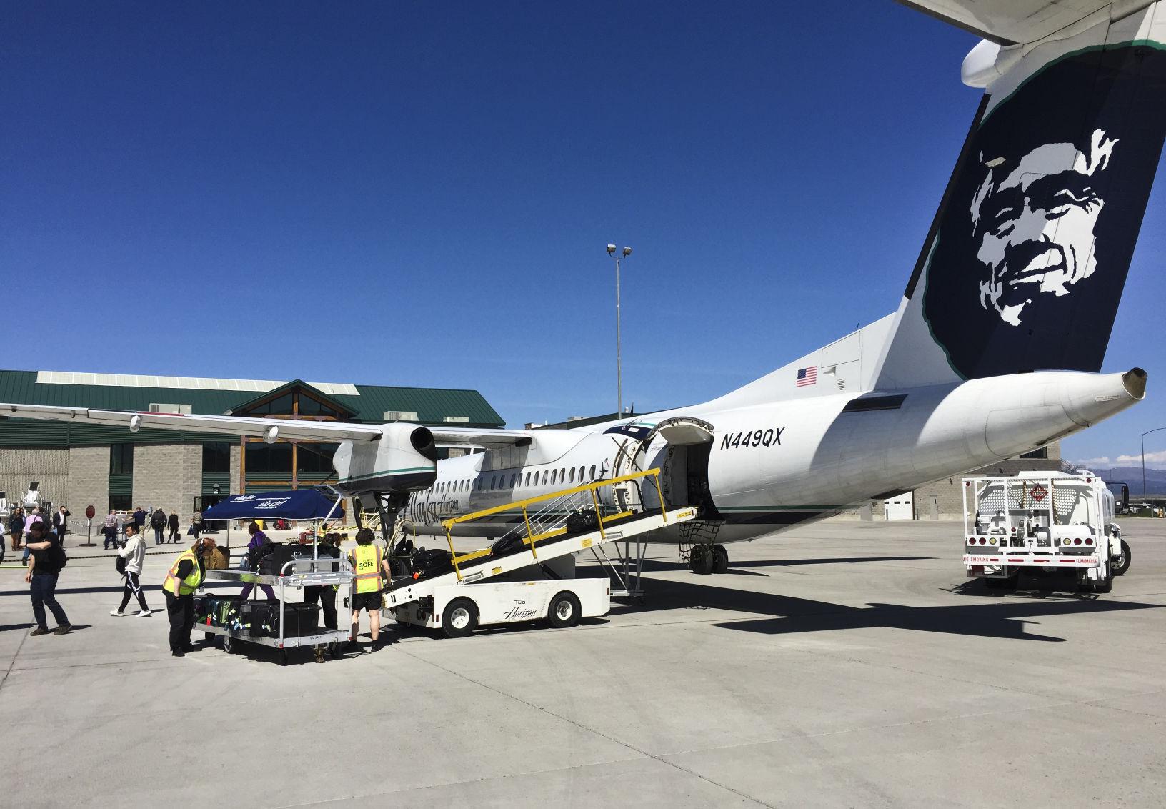 Alaska Airlines copy Sky high Montana airports