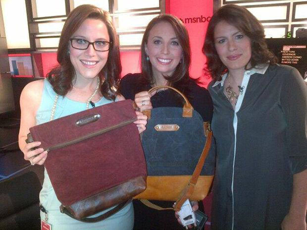 Montana Woman Other Military Wives Launch Handbags From Recycled Surplus Materials