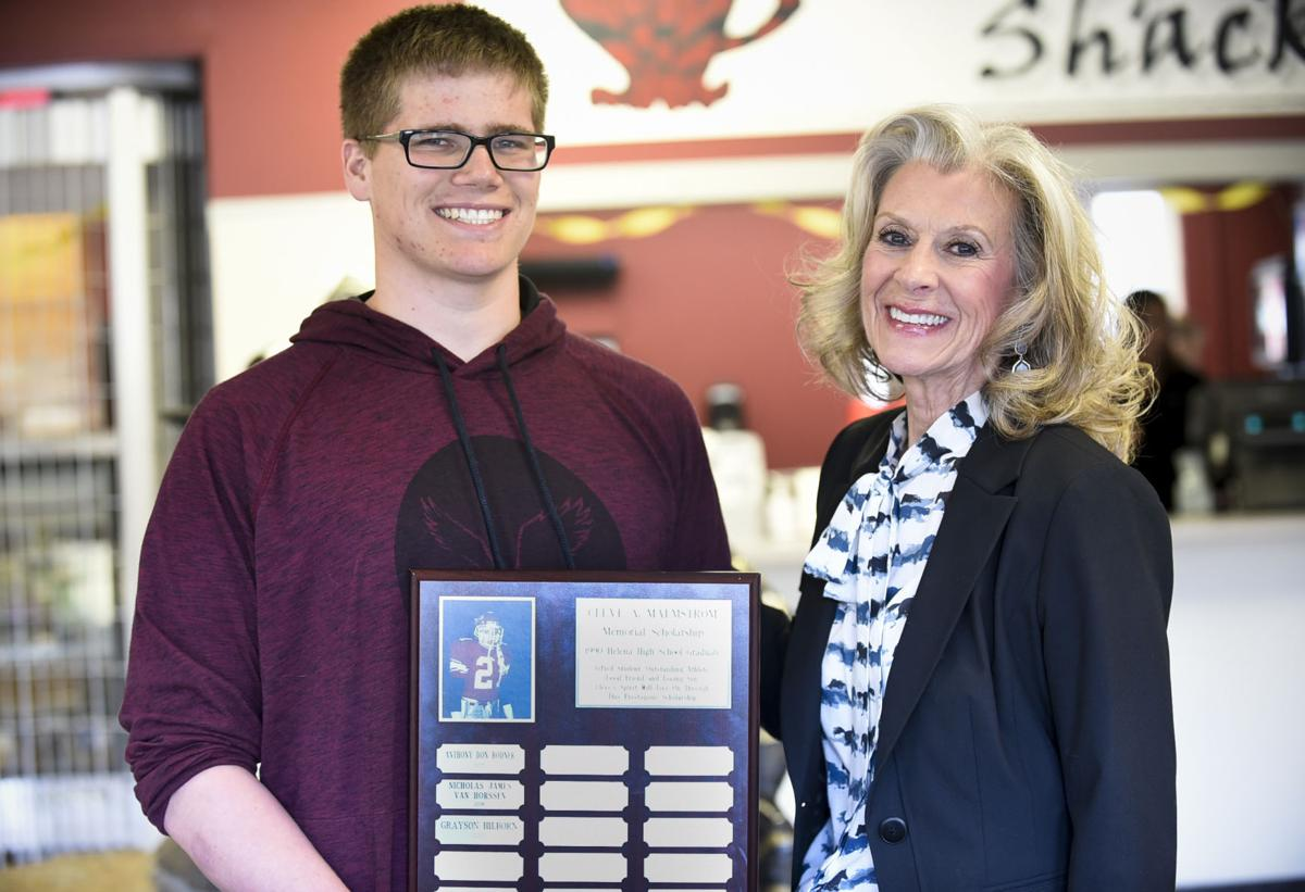 Helena High's Hilborn receives Cleve A. Malmstrom scholarship