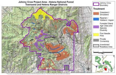 Johnny Crow Wildlife Habitat Improvement project