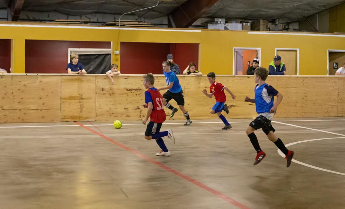 Queen City Football Club indoor soccer arena