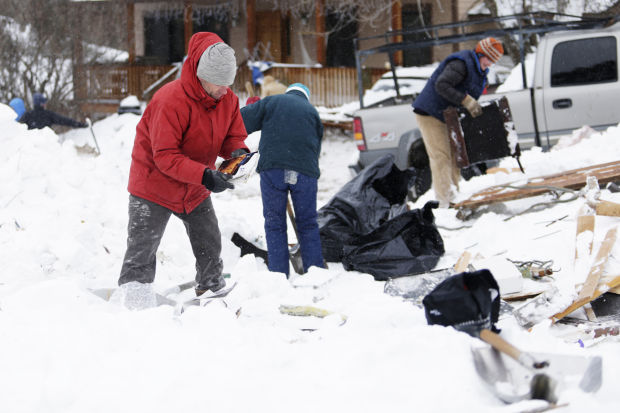 Volunteers Lend A Helping Hand To Missoula Avalanche Victims