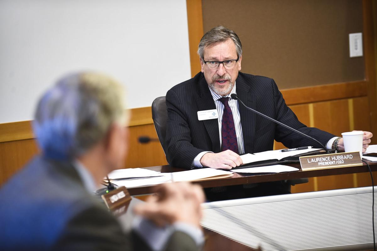 Montana State Fund CEO Laurence Hubbard