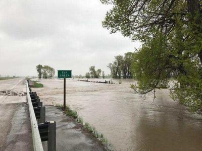 Elk Creek flooding