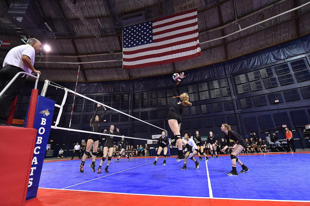 Class AA volleyball