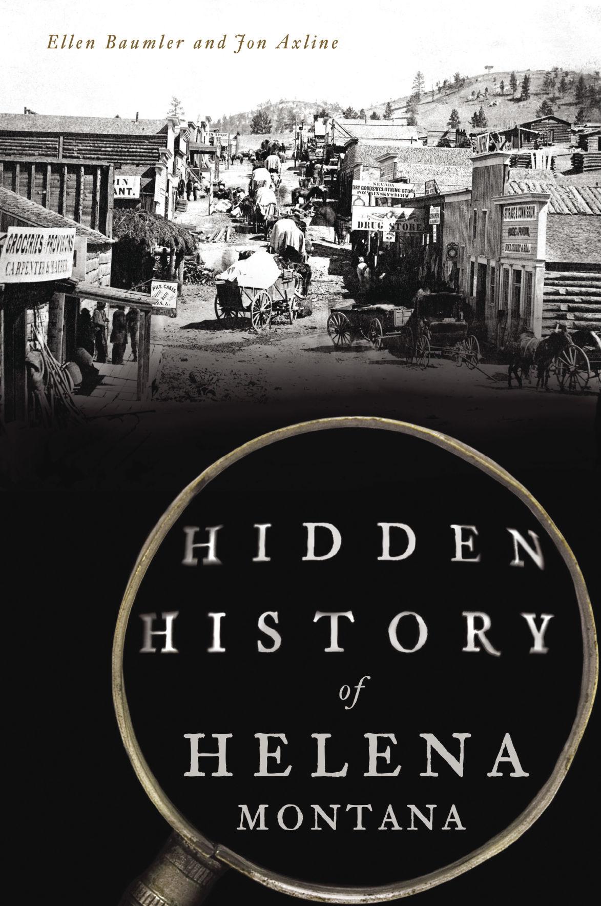 Book cover: Hidden History of Helena