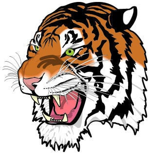 Helena High School Bengals logo