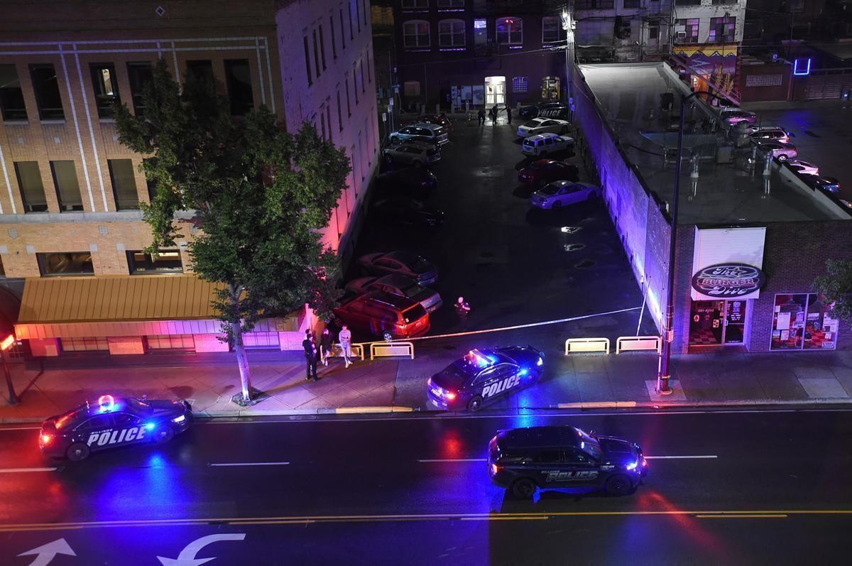 Downtown shooting