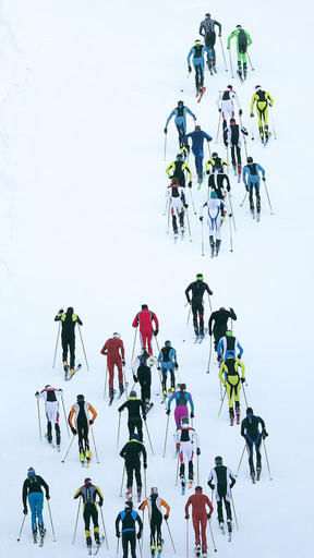 Ski mountaineering growing in popularity
