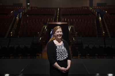 Angela Poole, manager of the Helena Civic Center