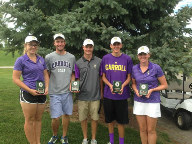 Carroll golf teams 2nd at RMC Invite