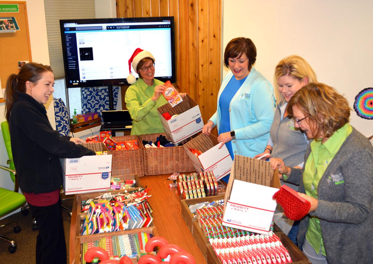 Photo: Red Scarf Project spreads support to foster care youth