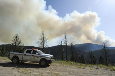 The Horsefly and Black Diamond fires