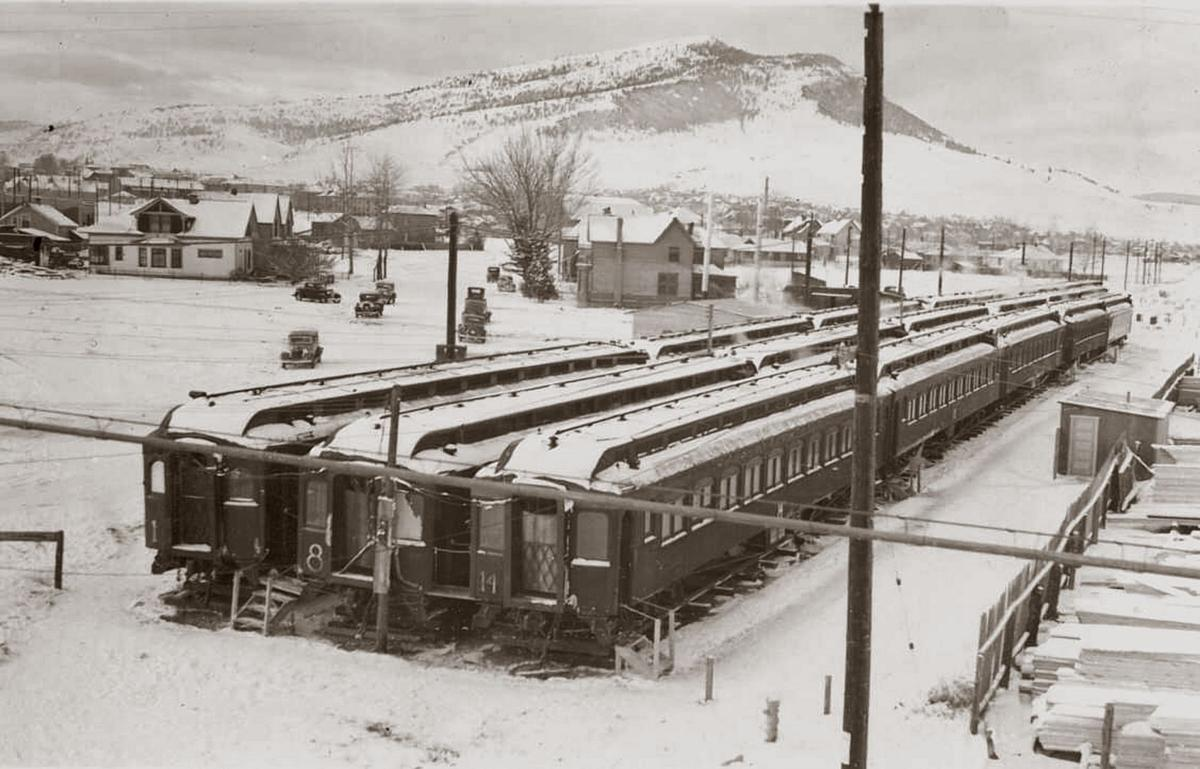 Railway Coaches on E. Lyndale Ave.