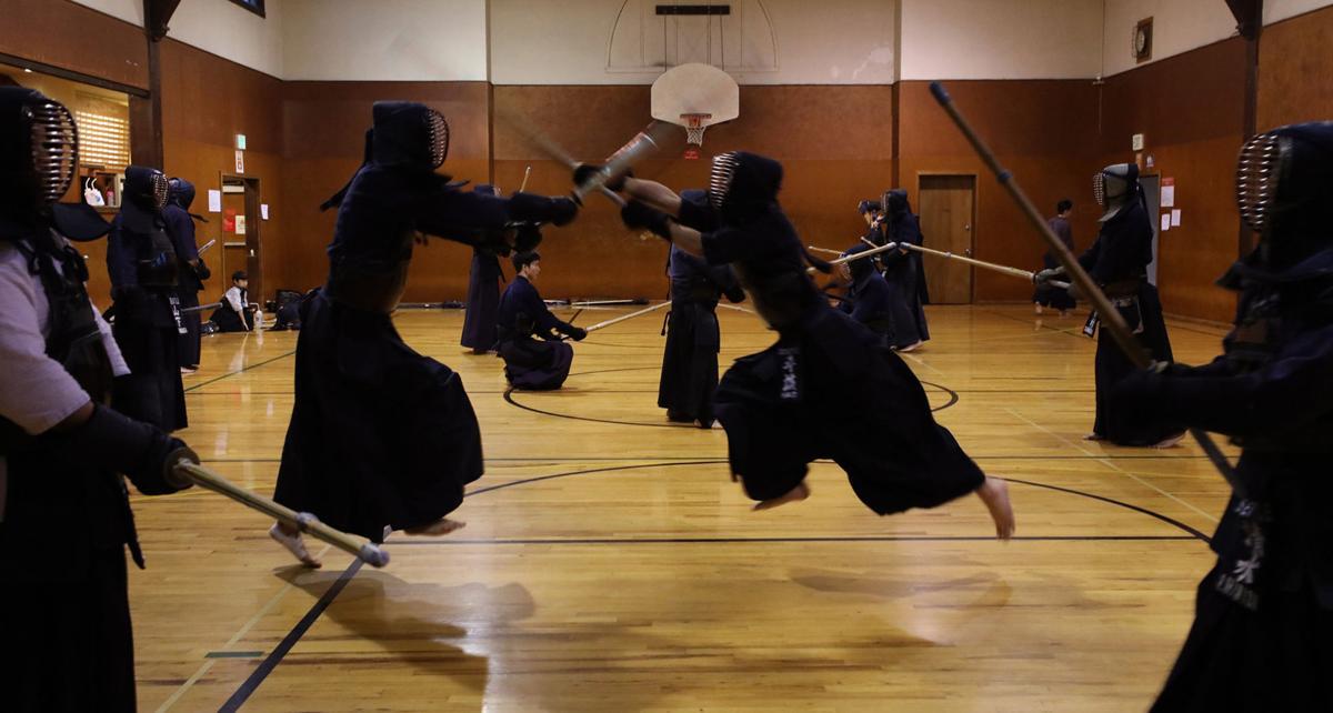 Kendo students