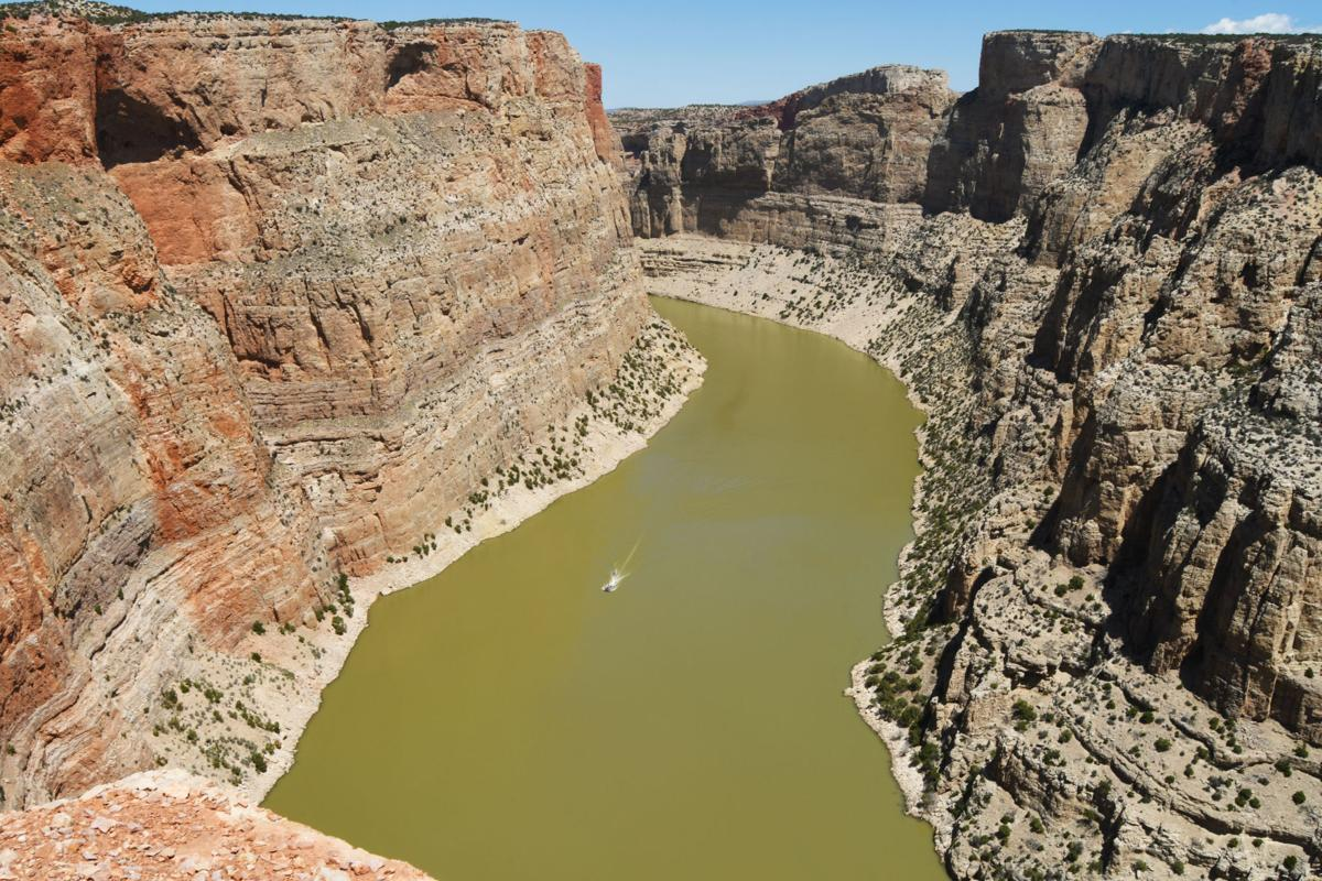Boating on the Bighorn River