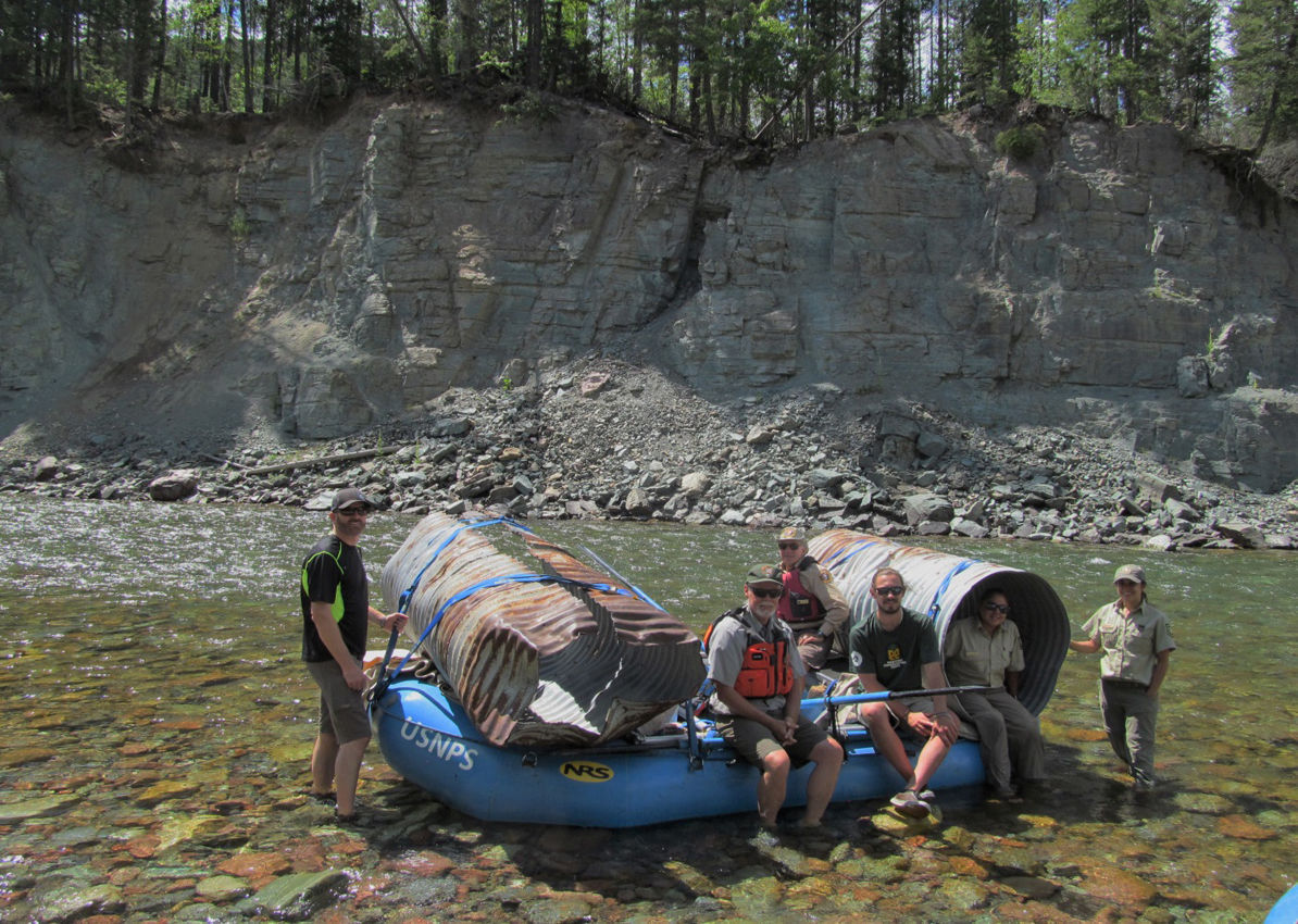Backcountry river volunteers