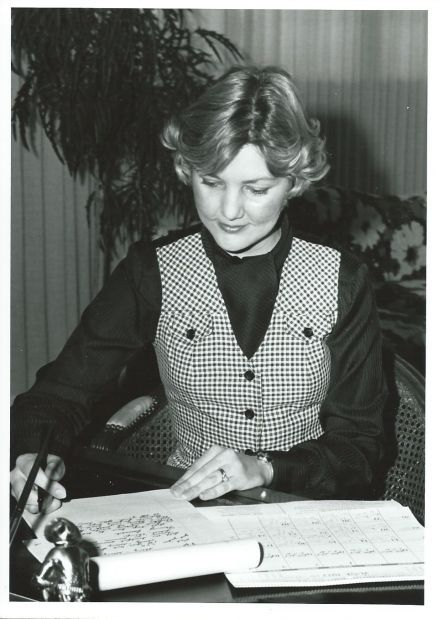 Carol Judge in office - IR copy