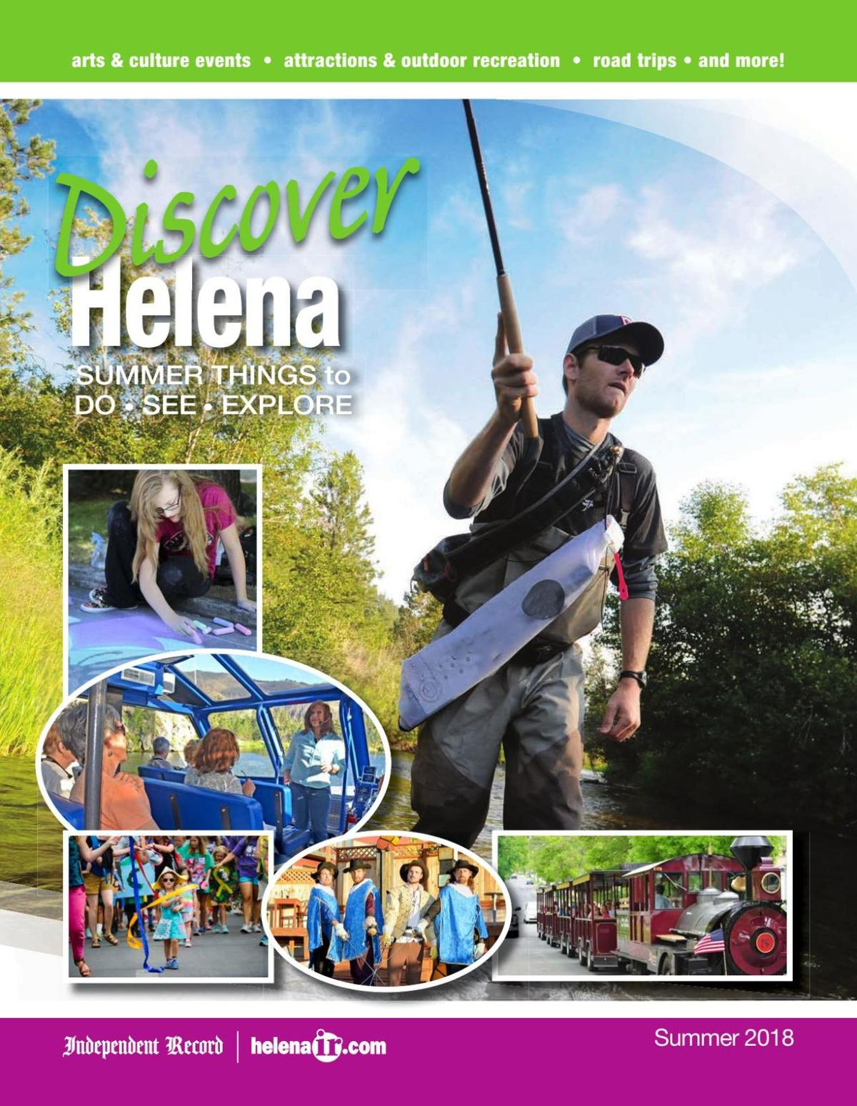 Discover Helena - Summer Things to Do, See & Explore - Summer 2018