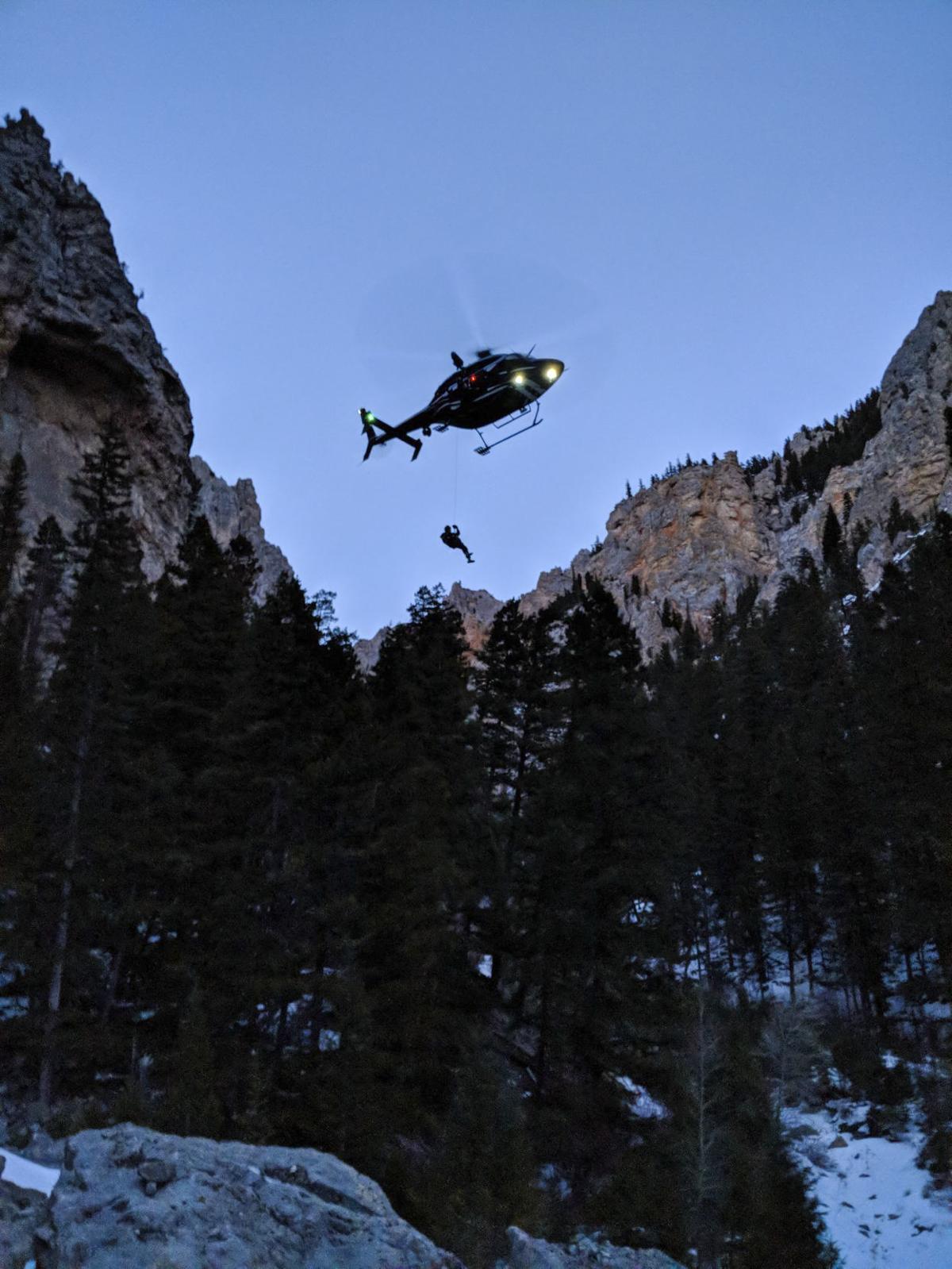 Two Bear Air Rescue at Vigilante Campground