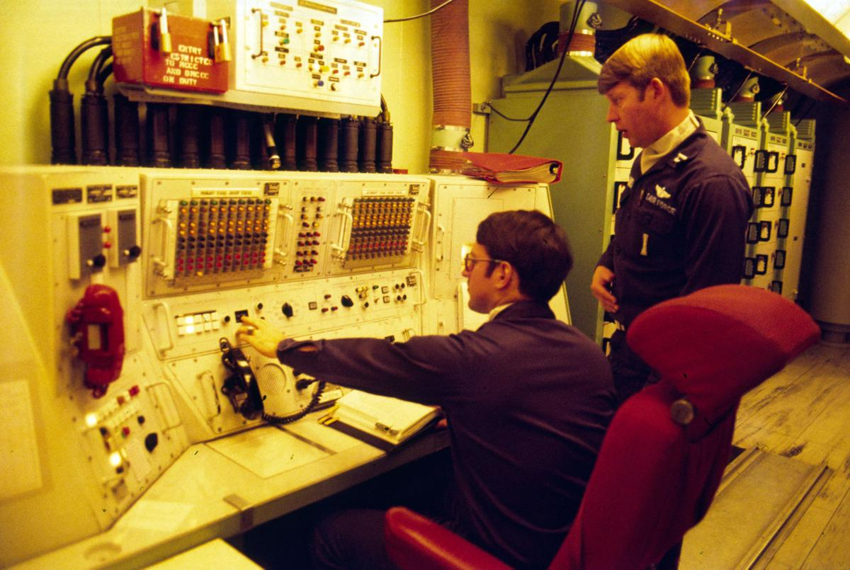 Minuteman missile launch control center, 1977