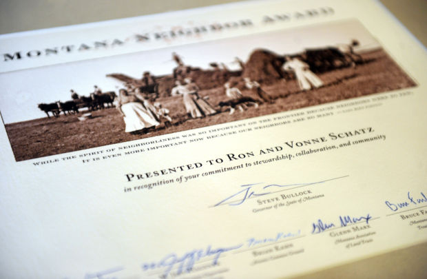 Montana Neighbor award
