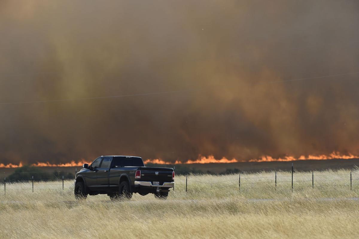 Birdseye wildfire truck