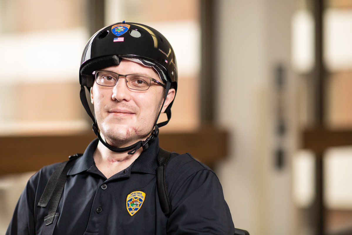 Trooper Wade Palmer recovery