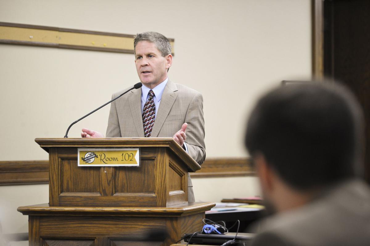 Montana Secretary of State Corey Stapleton