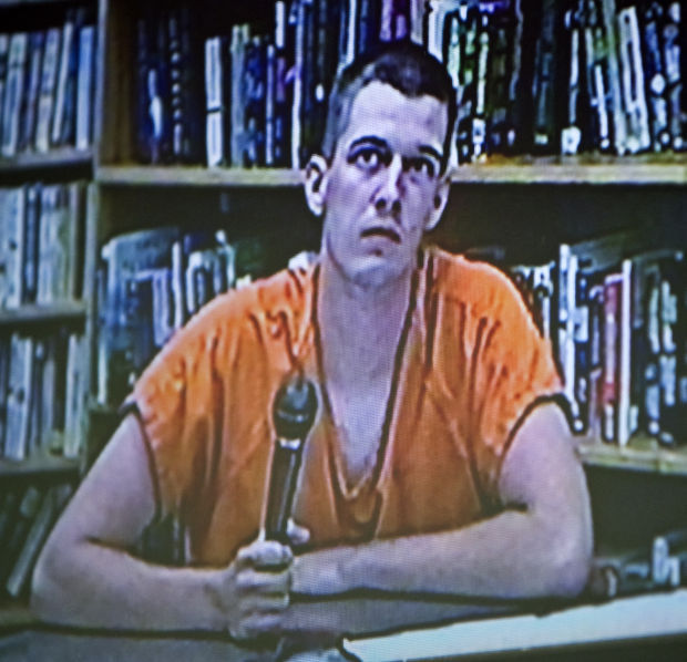 Fredrick Maw appears in justice court Thursday afternoon.
