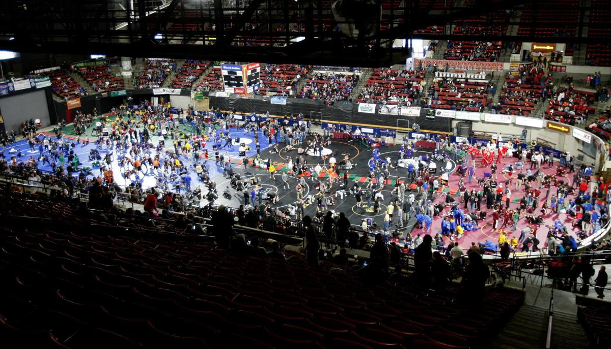 State wrestling tournament