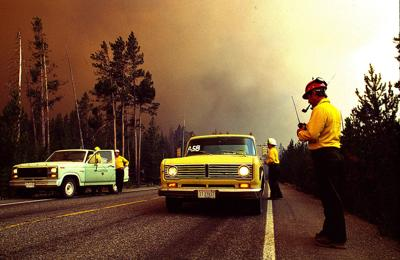 Ignited by lightning and cigarettes, Yellowstone fires were extinguished with snow and hard work