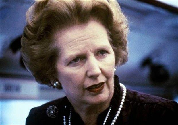Brtain's Margaret Thatcher has died at age 87