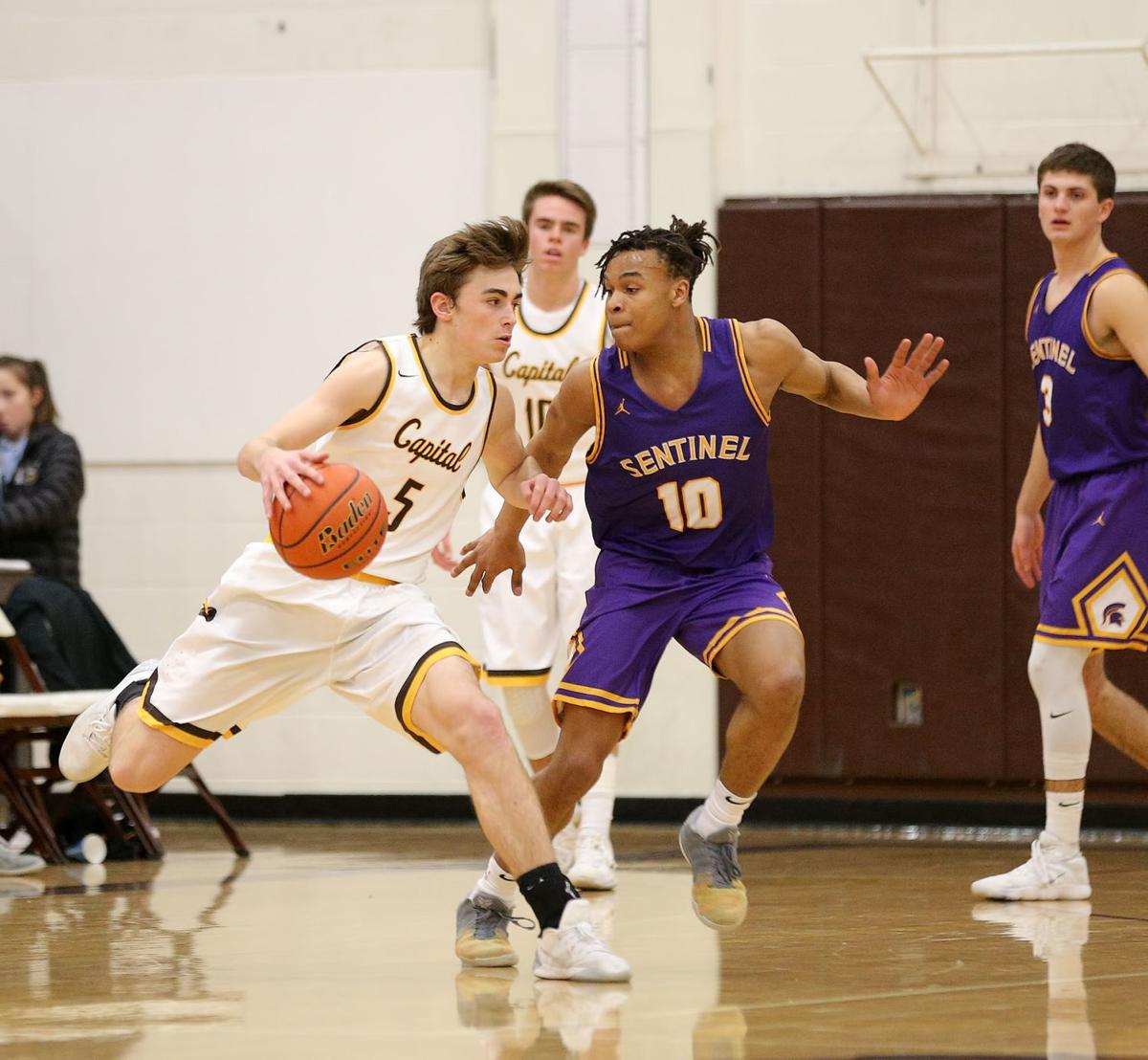 bvoys basketball; CHS vs Sentinel