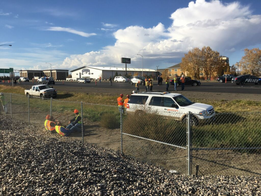 Truck hits, kills highway worker on I-90 South Billings exit