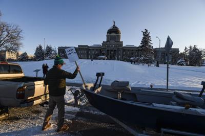 Smith River mine protest