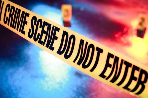 crime scene crime tape stockimage police (IR copy)