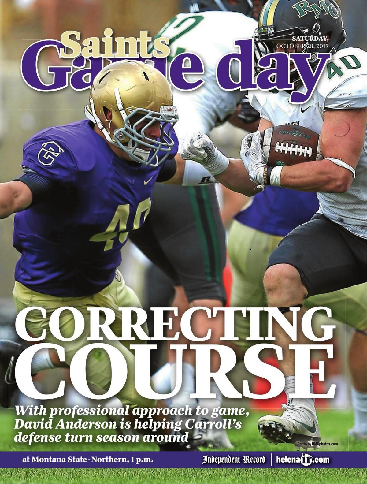 Helena Carroll College Saints Game Day - 10/28/17