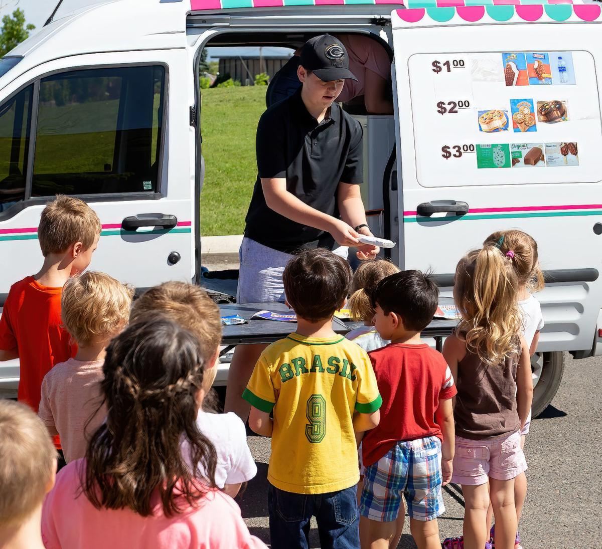 Child's Play Preschool ice cream truck