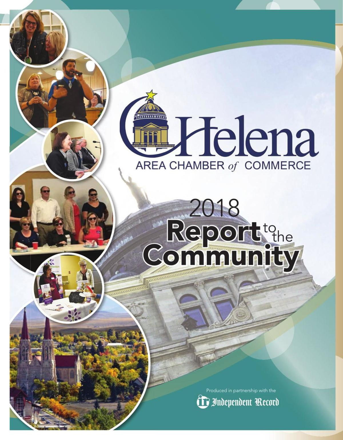 Helena Area Chamber of Commerce 2018 Report to the Community - February 4, 2018