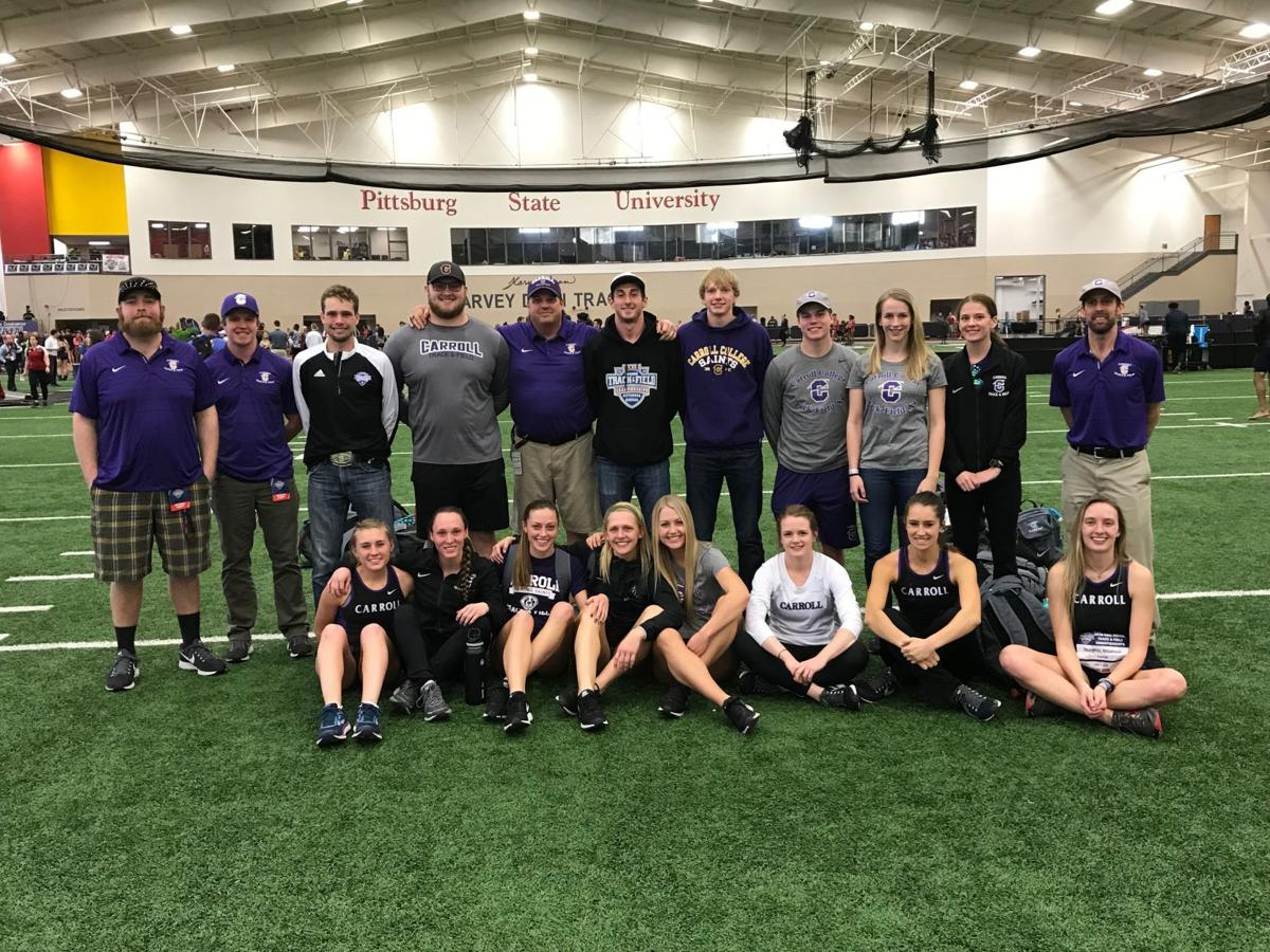 Carroll College National Indoor Team
