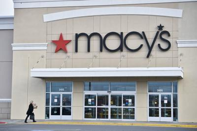 A shopper walks in to the Helena Macy's store Monday afternoon.