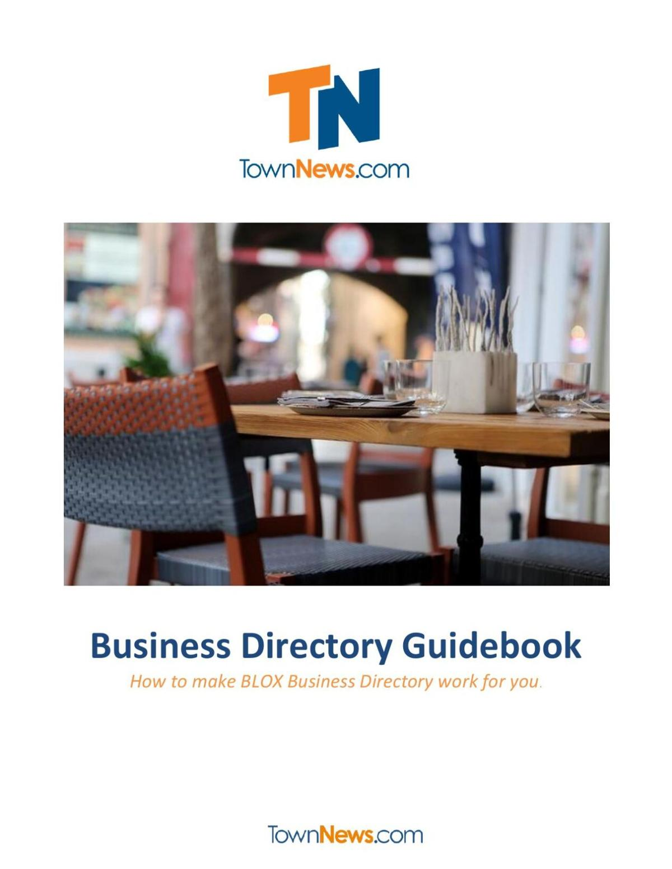 Business Directory Guidebook
