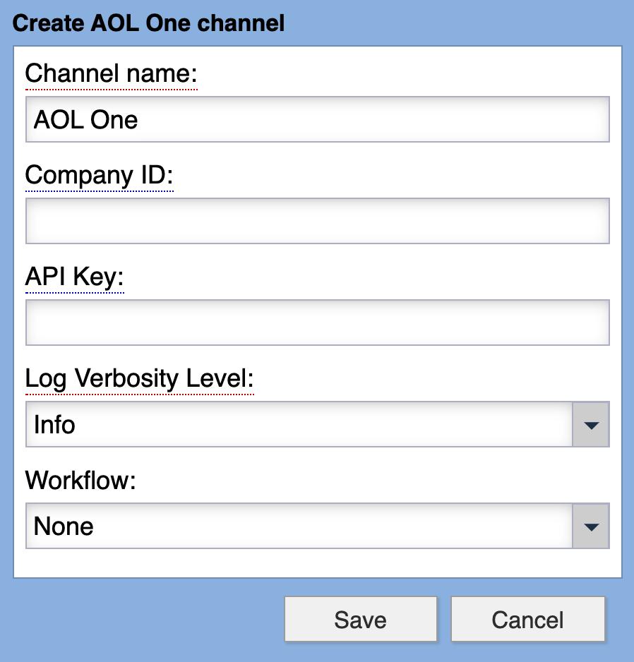 AOL One Syndication Channel