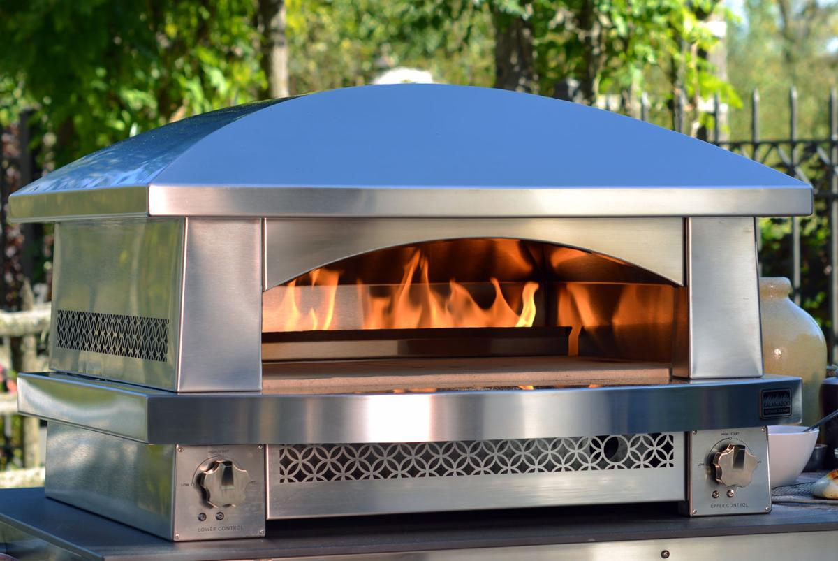 Pizza Ovens Fire Up Home Cooks Food And Cooking Herald Review Com