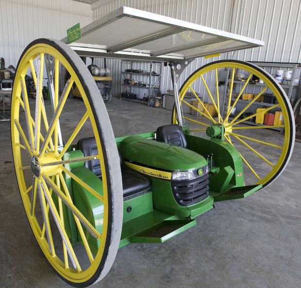 Yoder_Larry Solar Powered Green Buggy 7.24.13.jpg