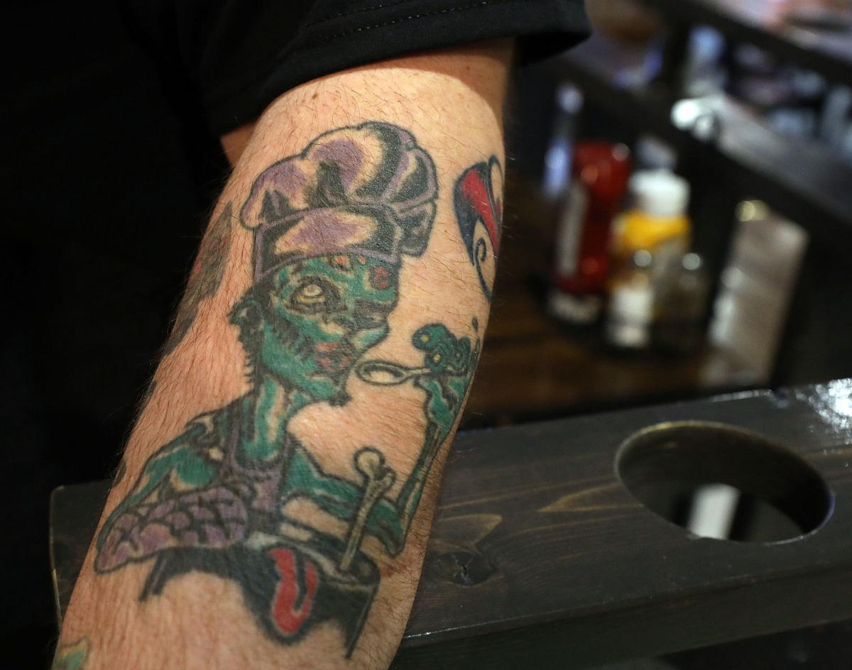 4246ac1b7 Tales of the tattoo: Why these Decatur chefs are so inked 🍴 | Food and  Cooking | herald-review.com