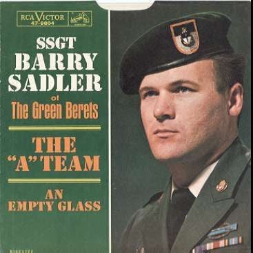 Image result for green berets barry sadler