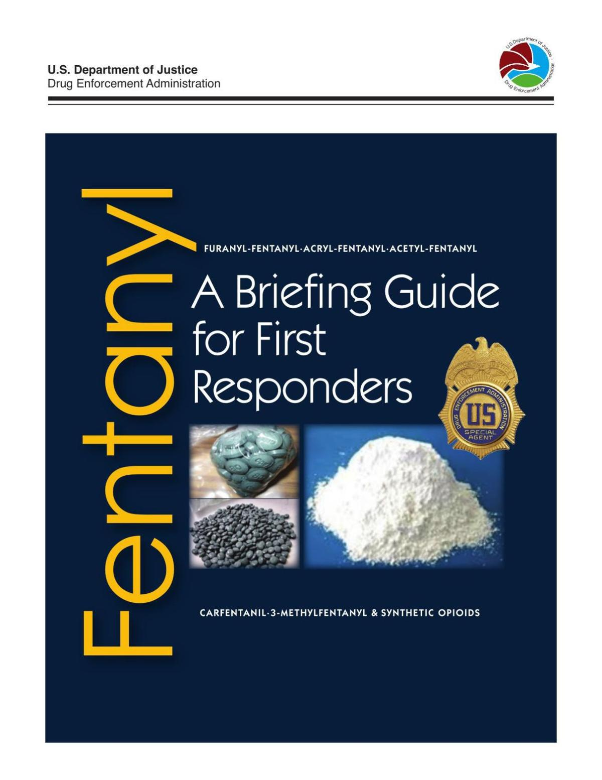 Fentanyl Briefing Guide for First Responders