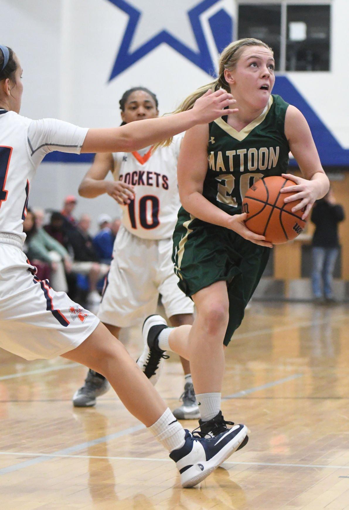 PHOTOS: Mattoon Vs Rochester Girls Basketball 3A Regional
